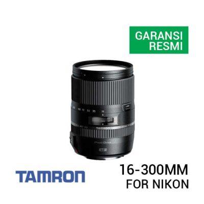 jual lensa Tamron 16-300mm f/3.5-6.3 Di II VC PZD MACRO for Nikon harga murah surabaya jakarta