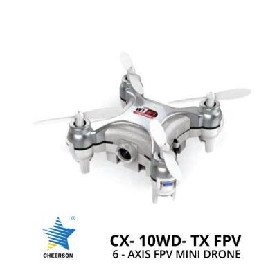 jual Cheerson CX-10WD-TX 6-Axis FPV Mini Drone