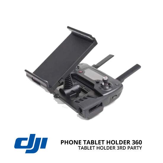 jual DJI Mavic Phone/Tablet Holder 360° Black 3rd Party