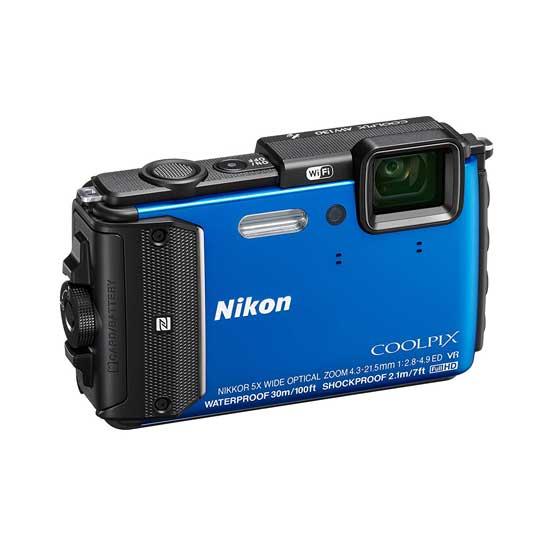 Jual Kamera Nikon Coolpix AW130 Blue Murah. Cek Harga Kamera Nikon Coolpix AW130 Blue disini, Toko Kamera Online Surabaya Jakarta - Plazakamera.com