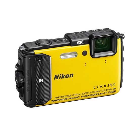 Jual Kamera Nikon Coolpix AW130 Yellow Murah. Cek Harga Kamera Nikon Coolpix AW130 Yellow disini, Toko Kamera Online Surabaya Jakarta - Plazakamera.com