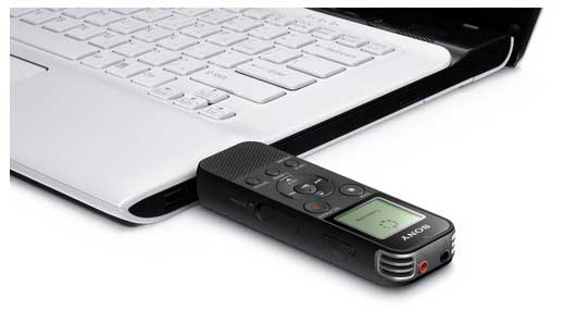Jual Sony ICD-PX470 Digital Voice Recorder with USB