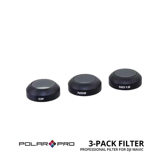 jual Polar Pro 3 Pack Filter for DJI Mavic