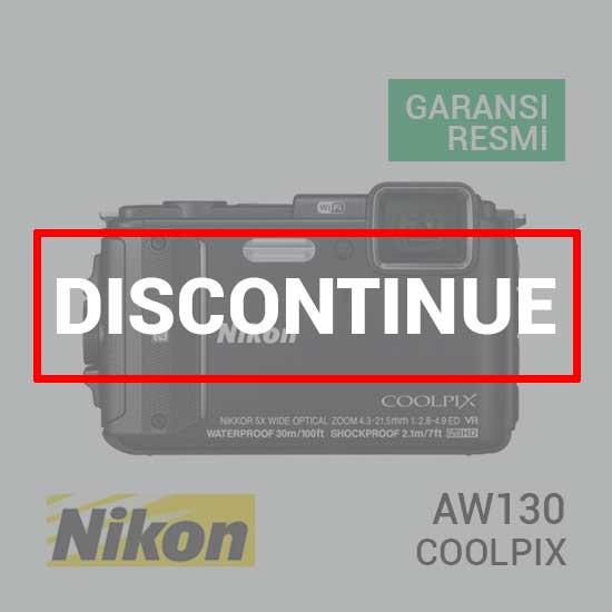 jual Nikon Coolpix AW130 Black harga murah surabaya jakarta