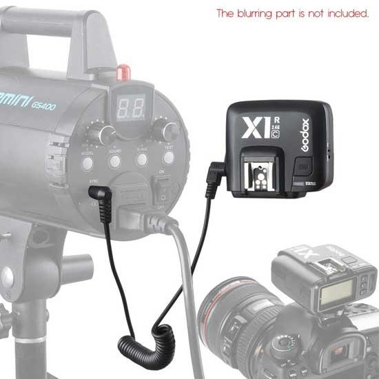 Jual Godox X1R-C Wireless TTL Flash Receiver for Canon