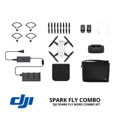 jual drone DJI Spark Fly More Combo - Alpine White harga murah surabaya dan jakarta
