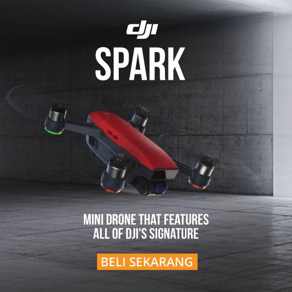 Fitur DJI Spark