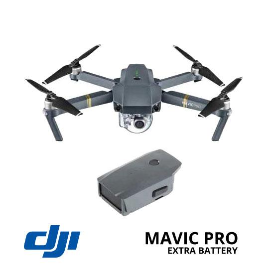 jual drone DJI Mavic Pro + Extra Battery harga murah surabaya dan jakarta