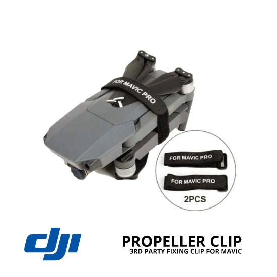 jual DJI Mavic Propeller Clip Fixing Strap 3rd Party