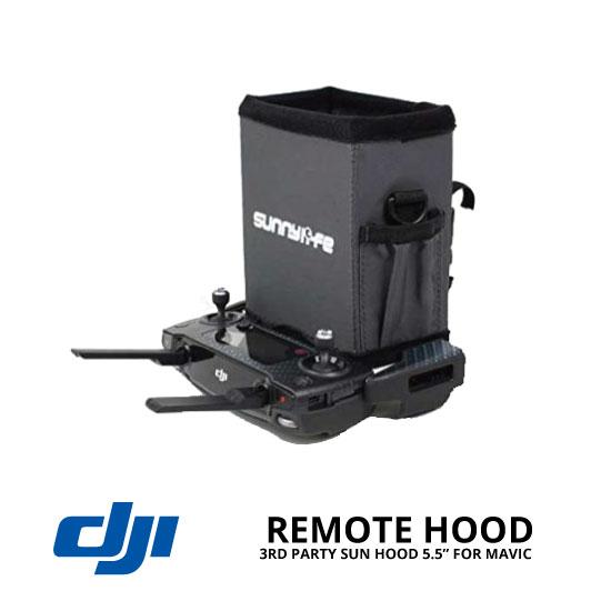 "jual DJI Mavic Remote Controller Sun Hood 5.5"" 3rd Party"