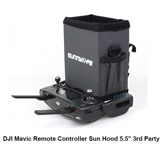 Jual DJI Mavic Remote Controller Sun Hood 5.5 3rd Party