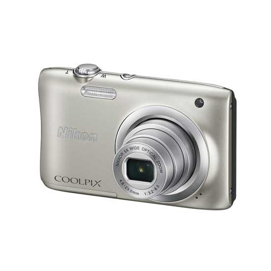 Jual Nikon Coolpix A100 Silver