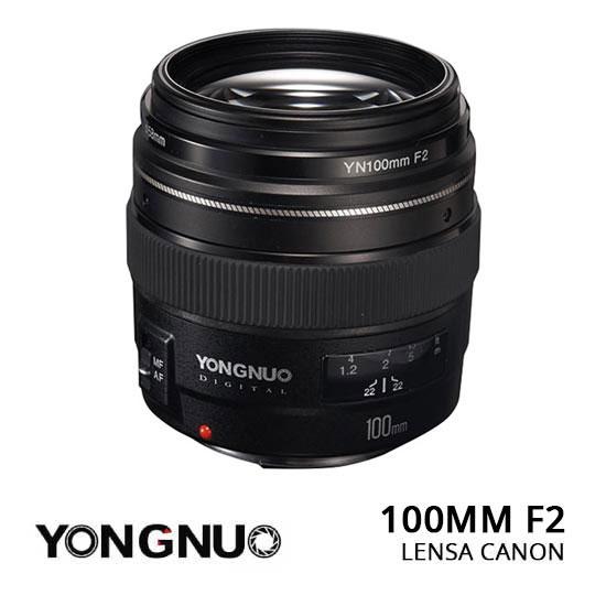 Jual Lensa YongNuo 100mm F2 Canon Murah. Cek Harga YongNuo 100mm F2 Canon disini, Toko Kamera Jakarta & Surabaya - Plazakamera.com