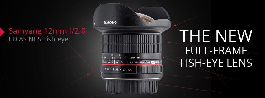 jual Samyang 12mm F2.8 ED AS NCS FISH-EYE for Nikon AE