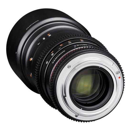 jual Samyang 135mm T2.2 VDSLR ED UMC for Nikon