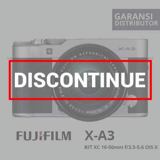 jual FujiFilm XA3 kit 16-50mm Silver harga murah surabaya jakarta