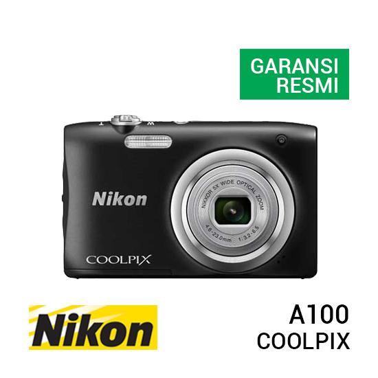 jual kamera Nikon Coolpix A100 Black harga murah surabaya jakarta