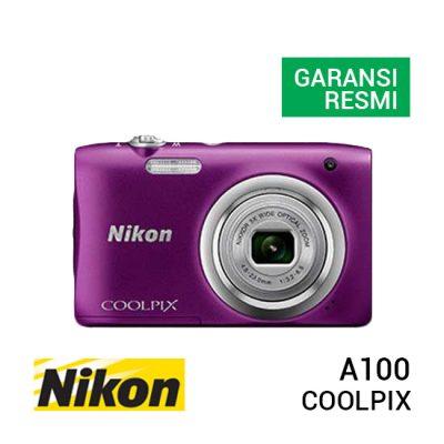 jual kamera Nikon Coolpix A100 Purple harga murah surabaya jakarta