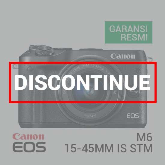 Canon EOS M6 Kit EF-M15-45mm f3.5-6.3 IS STM Black
