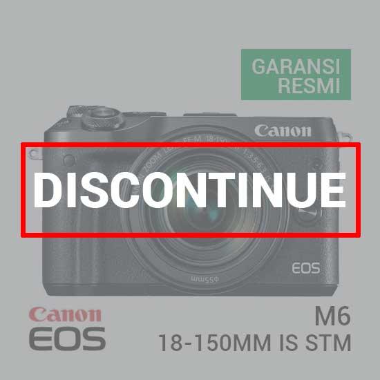 jual Canon EOS M6 Kit EF-M18-150mm f/3.5-6.3 IS STM Black