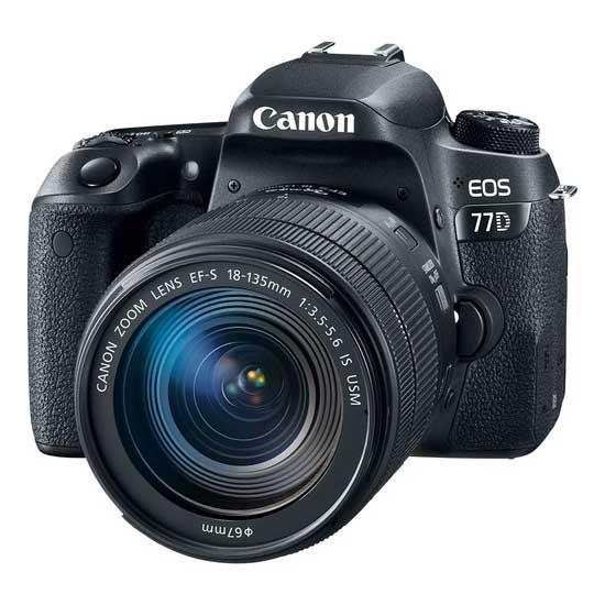 Jual Canon EOS 77D Kit EF-S 18-135 IS USM. Cek Harga Canon EOS 77D Kit EF-S 18-135 IS USM disini, Toko Kamera Online - Plazakamera.com