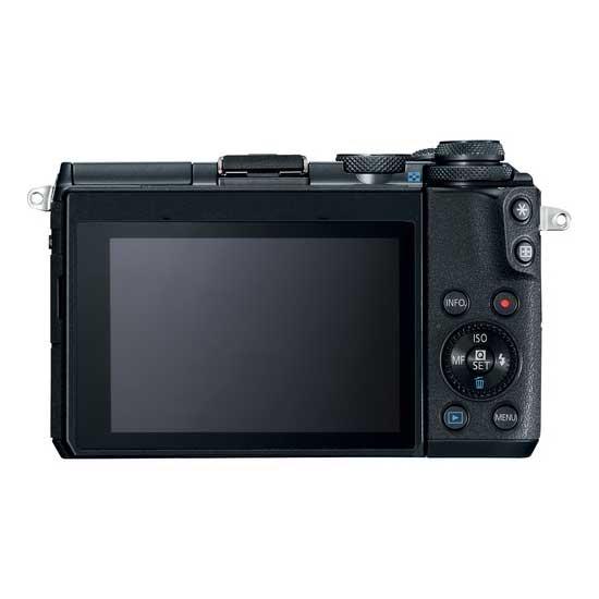 Jual Kamera Mirrorless Canon EOS M6 Kit EF-M18-150mm f/3.5-6.3 IS STM Black Harga Murah Garansi Resmi. Cek Harga Kamera Mirrorless Canon EOS M6 Kit EF-M18-150mm f/3.5-6.3 IS STM Black disini, Toko Kamera Online Surabaya Jakarta - Plazakamera.com