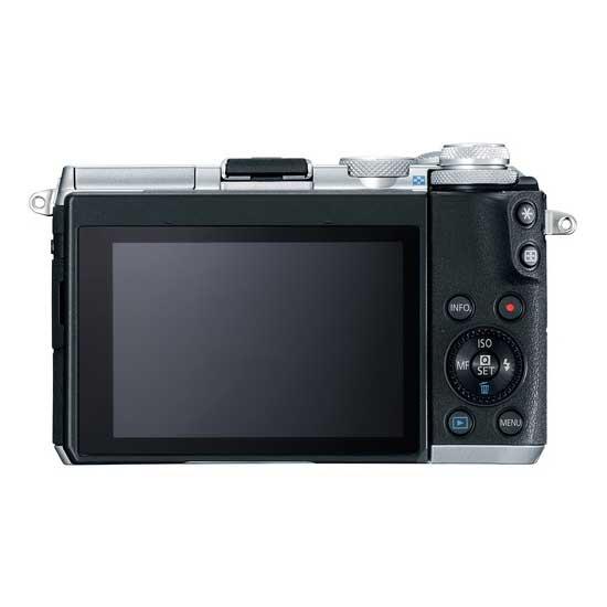 Jual Kamera Mirrorless Canon EOS M6 Kit EF-M18-150mm f/3.5-6.3 IS STM Silver Harga Murah Garansi Resmi. Cek Harga Kamera Mirrorless Canon EOS M6 Kit EF-M18-150mm f/3.5-6.3 IS STM Silver disini, Toko Kamera Online Surabaya Jakarta - Plazakamera.com