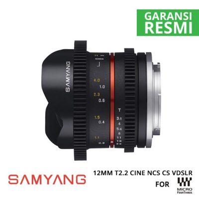 jual Samyang 12mm T2.2 Cine NCS CS VDSLR for MFT