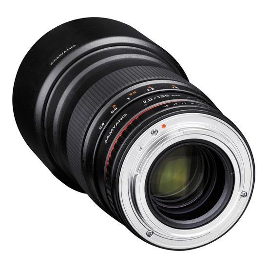 jual Samyang 135mm F2.0 ED UMC for Nikon AE