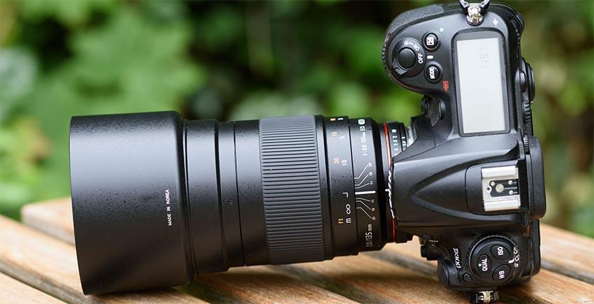 jual Samyang 135mm F2.0 ED UMC for Sony NEX