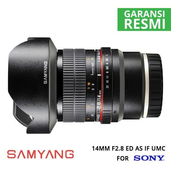 jual Samyang 14mm F2.8 ED AS IF UMC for Sony NEX