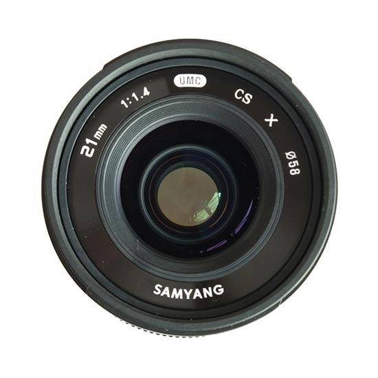 jual Samyang 21mm F1.4 ED AS UMC CS for Sony NEX