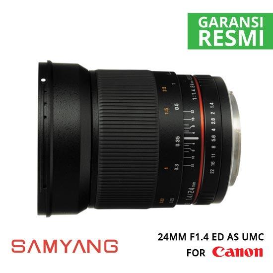 jual Samyang-24mm-F1.4-ED-AS-UMC-for-Canon