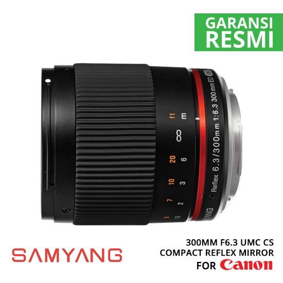 jual Samyang 300mm F6.3 UMC CS Compact Reflex Mirror Lens for EOS M