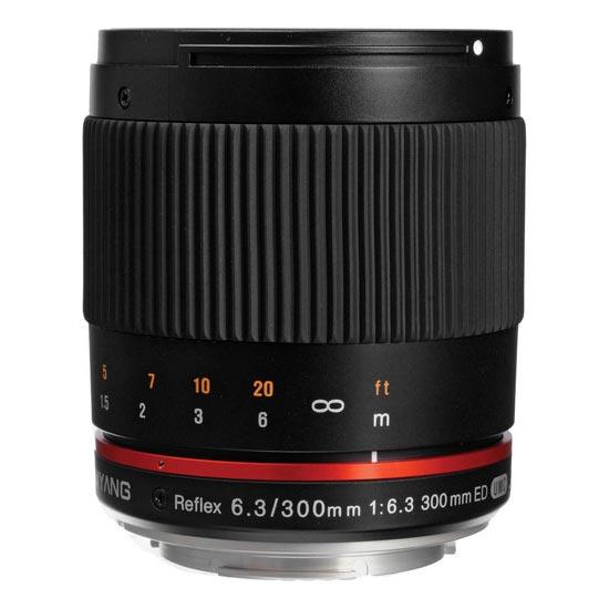 jual Samyang 300mm F6.3 UMC CS Compact Reflex Mirror Lens for Fuji X