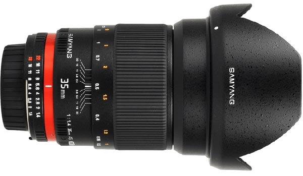 jual Samyang 35mm F1.4 AS UMC for Sony