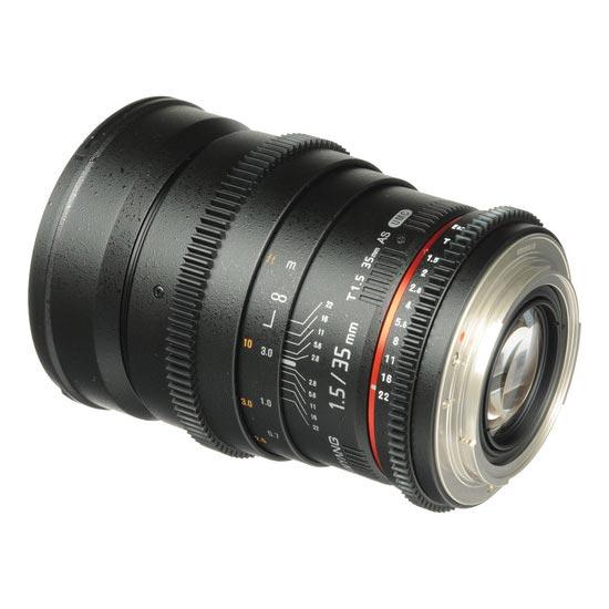 Jual Lensa Samyang 35mm T1.5 VDSLR AS UMC II for Nikon Murah. Cek Harga Samyang 35mm T1.5 VDSLR AS UMC II for Nikon di Toko Kamera Online Surabaya Jakarta - Plazakamera.com