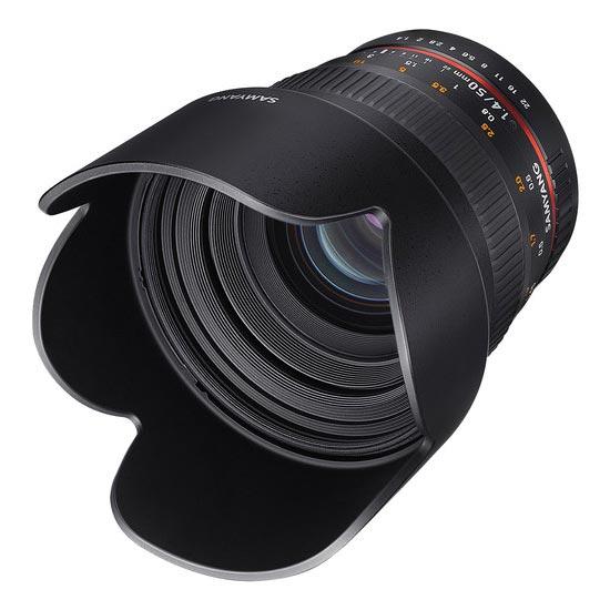 Jual Lensa Samyang 50mm F1.4 AS UMC for Canon. Cek Harga Lensa Samyang 50mm F1.4 AS UMC for Canon disini, Toko Kamera Online - Plazakamera.com