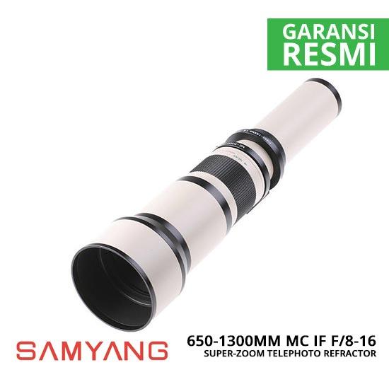 jual Samyang 650-1300mm MC IF f8-16 Super-Zoom Telephoto Refractor Lensa