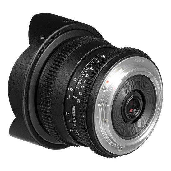 Jual Lensa Samyang 8mm T3.8 VDSLR UMC Fish-eye CS II Detachable Hood for Canon Murah. Cek Harga Samyang 8mm T3.8 VDSLR UMC Fish-eye CS II Detachable Hood for Canon disini, Toko Kamera Online Surabaya Jakarta - Plazakamera.com
