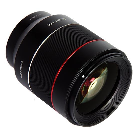 jual Samyang AF 50mm F1.4 FE for Sony NEX