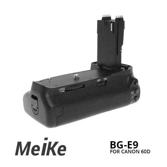 Jual BG Meike BG-E9 For Canon For 60D Murah. Cek Harga BG Meike BG-E9 For Canon For 60D di Toko Kamera Online Indonesia - Plazakamera.com