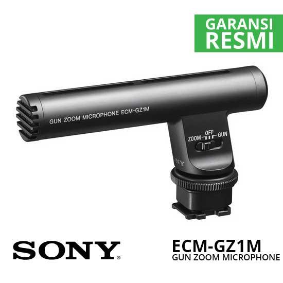 Jual Sony ECM-GZ1M Gun zoom Microphone Murah. Cek Harga Sony ECM-GZ1M Gun zoom Microphone disini, Toko Aksesoris Kamera Surabaya Jakarta - Plazakamera.com