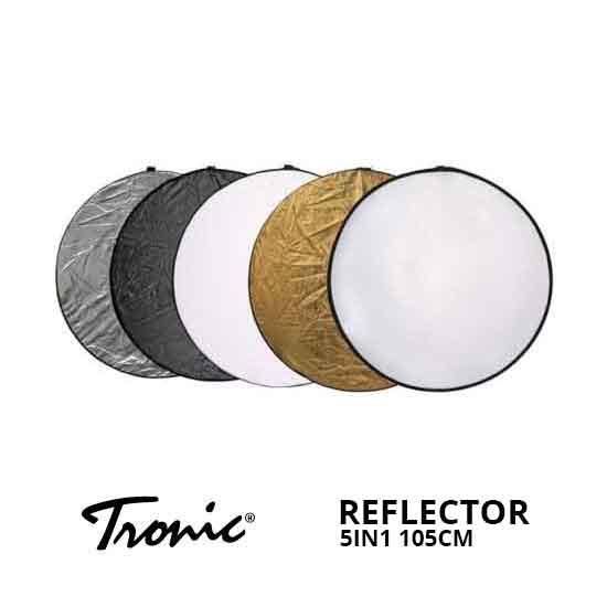 Jual Tronic Reflector 5in1 105cm Murah. Cek Harga Tronic Reflector 5in1 105cm disini, Toko Aksesoris Kamera Online Surabaya Jakarta - Plazakamera.com