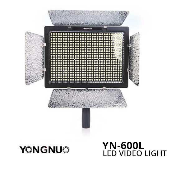 Jual YongNuo YN-600L LED Video Light Murah. Cek Harga YongNuo YN-600L LED Video Light disini, Toko Kamera Online Surabaya Jakarta - Plazakamera.com