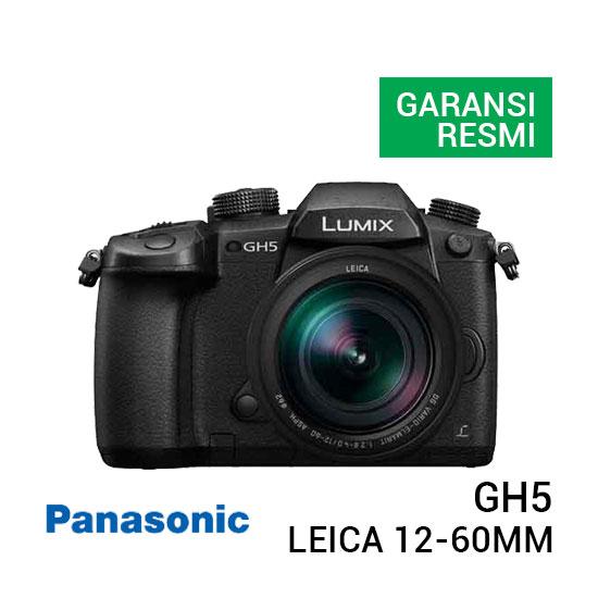 jual kamera Panasonic Lumix DC-GH5 Kit LEICA 12-60mm f/2.8-4.0 ASPH harga murah surabaya jakarta