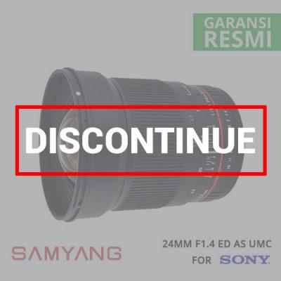 jual lensa Samyang 24mm F1.4 ED AS UMC for Sony harga murah surabaya jakarta