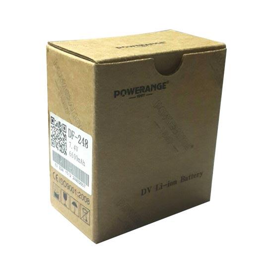 jual Baterai Powerange DV Li-Ion DF-248 untuk Sony
