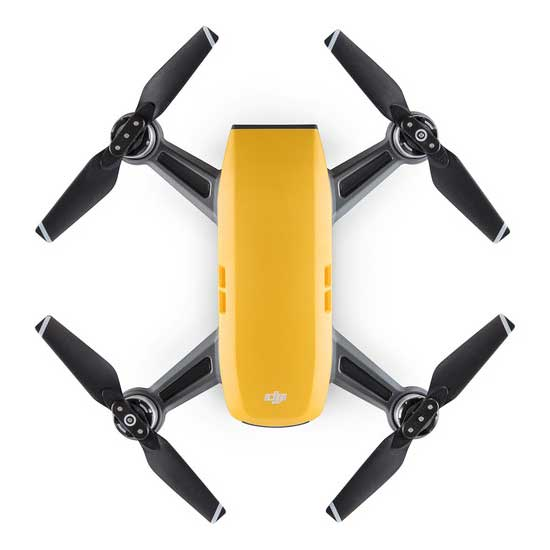 Jual DJI Spark Fly More Combo - Sunrise Yellow