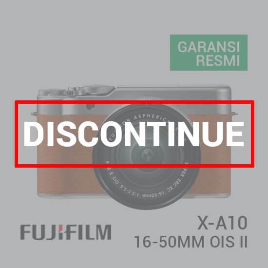 Jual FUJIFILM X-A10 Kit XC 16-50mm Brown Harga Murah